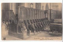 CPA 63 - Mozac - Intérieur De L'Eglise - Stalles Du Choeur Des Moines : Achat Immédiat - France
