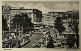 Düsseldorf // Cornelius Platz Met Strassenbahn - Tram 195? - Düsseldorf