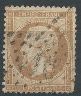 Lot N°46930  N°21, Oblit étoile Chiffrée 16 De PARIS (R. De Palestro) - 1862 Napoleon III