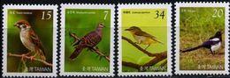 Taiwan, 2008, Mi. 3342-45, Sc. 3819-22, SG 3317-20, Birds, MNH - 1945-... République De Chine