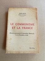 """Livret Ancien De 1948 Jules Moch """"Le Communisme Et La France"""" - Vieux Papiers"""