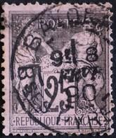 -Sage N°97 Type II   O. BAYONNE.8 Févr 1890. - 1876-1898 Sage (Type II)