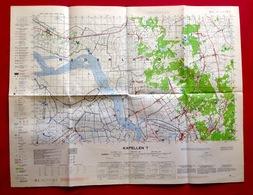 KAPELLEN Situatie 1928-37 MILITAIRE STAFKAART 7 SCHELDE KALMTHOUT BRASSCHAAT OORDEREN BERENDRECHT DOEL KIELDRECHT S458 - Kapellen