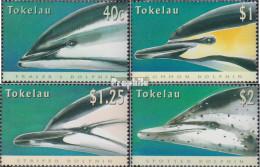 Tokelau 234-237 (kompl.Ausg.) Postfrisch 1996 Delphine - Tokelau