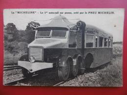 LA MICHELINE LE 1 AUTO RAIL SUR PNEU MICHELIN Verso A Lire ALES JOURNAL - Trains