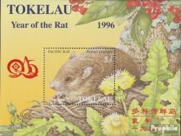 Tokelau Block7II (kompl.Ausg.) Postfrisch 1996 Chinesisches Neujahr - Taipei - Tokelau