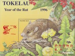 Tokelau Block7I (kompl.Ausg.) Postfrisch 1996 Chinesisches Neujahr - Peking - Tokelau