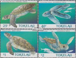 Tokelau 223-226 (kompl.Ausg.) Postfrisch 1995 Meeresschildkröten - Tokelau
