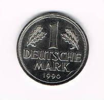 DUITSLAND 1 MARK 1990 D - 1 Mark