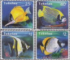 Tokelau 214-217 (kompl.Ausg.) Postfrisch 1995 Fische - Tokelau