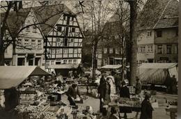 Soest (NRW) Auf Dem Wochenmarkt Met Belg. Mil. POST Stempel 1963 - Soest