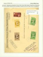 AEF - Lettre De Bangui, Ubangui-Shari Travaux Publics 20/06/1944 (7G29710)DC2512 - A.E.F. (1936-1958)