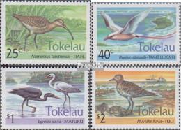 Tokelau 196-199 (kompl.Ausg.) Postfrisch 1993 Wasservögel - Tokelau