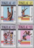 Tokelau 184-187 (kompl.Ausg.) Postfrisch 1992 Olympische Sommerspiele - Tokelau