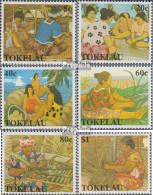 Tokelau 171-176 (kompl.Ausg.) Postfrisch 1990 Traditionelles Handwerk - Tokelau