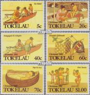 Tokelau 159-164 (kompl.Ausg.) Postfrisch 1988 Weihnachten - Tokelau