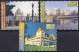 UNO WIEN 2003 Mi-Nr. 387/88 + 396 ** MNH - Wien - Internationales Zentrum