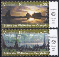 UNO WIEN 2003 Mi-Nr. 397/98 ** MNH - Ungebraucht
