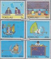 Tokelau 153-158 (kompl.Ausg.) Postfrisch 1988 Politische Ereignisse - Tokelau