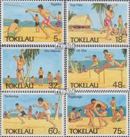 Tokelau 142-147 (kompl.Ausg.) Postfrisch 1987 Sport - Tokelau