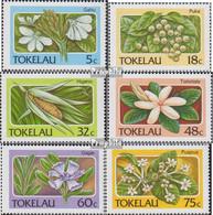 Tokelau 136-141 (kompl.Ausg.) Postfrisch 1987 Pflanzen - Tokelau