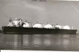 Bateaux -U.S.A. - L.N.G.- LAKE CHARLES - Energy - PHOTO CARTE  CARD - Bateaux