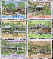 Tokelau 123-128 (kompl.Ausg.) Postfrisch 1986 Gebäude - Tokelau