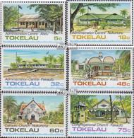 Tokelau 117-122 (kompl.Ausg.) Postfrisch 1985 Gebäude - Tokelau