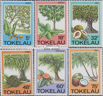 Tokelau 111-116 (kompl.Ausg.) Postfrisch 1985 Bäume - Tokelau
