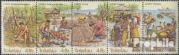 Tokelau 96-100 Fünferstreifen (kompl.Ausg.) Postfrisch 1984 Kopraindustrie - Tokelau