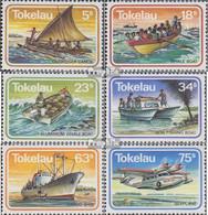 Tokelau 84-89 (kompl.Ausg.) Postfrisch 1983 Transportmittel - Tokelau