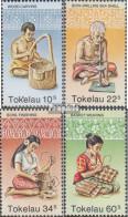 Tokelau 74-77 (kompl.Ausg.) Postfrisch 1982 Handwerk - Tokelau