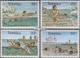 Tokelau Postfrisch Wassersport 1980 Wassersport - Tokelau