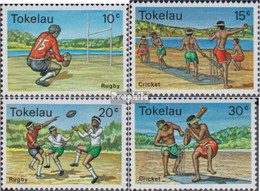 Tokelau Postfrisch Ballspiele 1979 Ballspiele - Tokelau