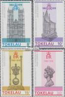 Tokelau 54-57 (kompl.Ausg.) Postfrisch 1978 Krönung Königin Elisabeth II. - Tokelau