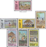 Tokelau 42C-49C (kompl.Ausg.) (7 Werte) Postfrisch 1981 Tätigkeiten - Tokelau