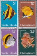 Tokelau Postfrisch Fische Des Korallenriffs 1975 Fische Des Korallenriffs - Tokelau