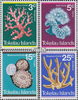 Tokelau Postfrisch Korallen 1973 Korallen - Tokelau