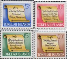 Tokelau 9-12 (kompl.Ausg.) Postfrisch 1969 Historische Ereignisse Der Inselgru - Tokelau