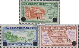 Tokelau Postfrisch Aufdruckausgabe 1967 Aufdruckausgabe - Tokelau