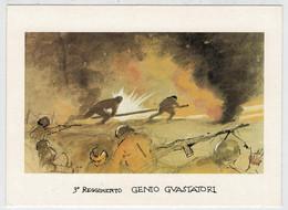 3°  REGGIMENTO    GENIO  GUASTATORI          (NUOVA) - Militaria