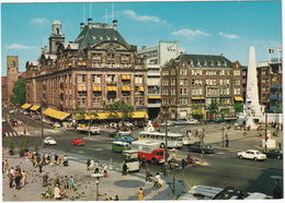 Amsterdam: DAF 44, PEUGEOT 404 TAXI, BEDFORD TK, FORD FK & P5, VW 1200 & PICKUP, MERCEDES W110 - Nat. Monument, Dam - Toerisme