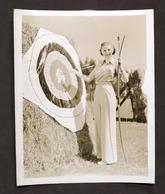 Cinema - Fotografia Dell'attrice Statunitense Jean Chatburn - Anni '30 - Foto
