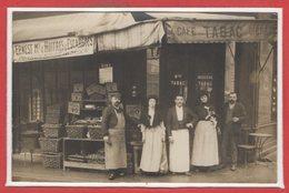 COMMERCE --  CARTE PHOTO - RARE - Café - - Mon BESSIERE - Cafés