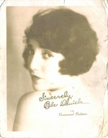 MOVIE CINEMA - American Actress, Singer, Dancer, Writer And Producer BEBE DANIELS Vintage 18x14cm Photo 1930' Paramount - Foto Dedicate