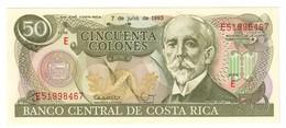 Costa Rica 50 Colones 07/07/1993 UNC .C3. - Costa Rica