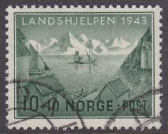 NORWAY 1943 (Mi.# 292) National Relief Fund - 10+10 øre - Norwegen