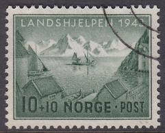 NORWAY 1943 (Mi.# 292) National Relief Fund - 10+10 øre - Norvège