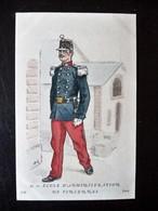 Paris Hergestellt Frankreich Ecole D'Aministration De Fincennes Ca. 1910 ? Sammlungsauflösung - Uniformen