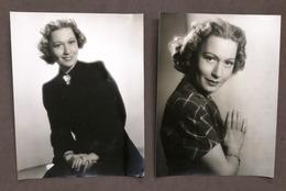 Cinema - Lotto 2 Fotografie Dell'attrice Tedesca Heli Finkenzeller - Anni '30 - Foto